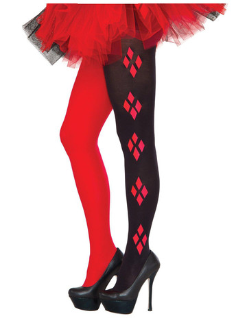 Harley Quinn Adult Tights
