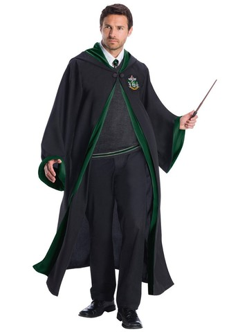 Slytherin Student Harry Potter Costume Plus Size for Adults