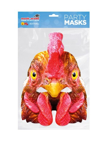 Hen Facemask Costume Accessory
