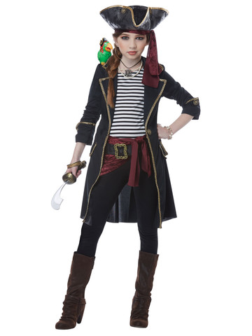 Kids High Seas Captain Costume