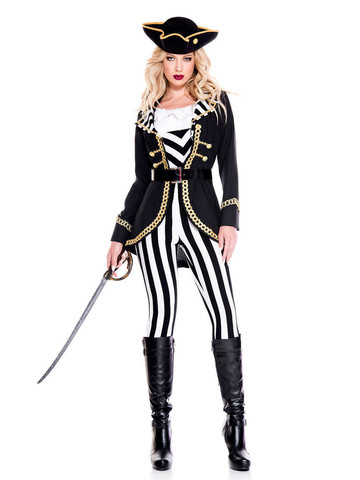 High Seas Pirate Captain - Womens Sexy Costume