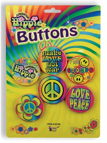 Radical Hippie Button