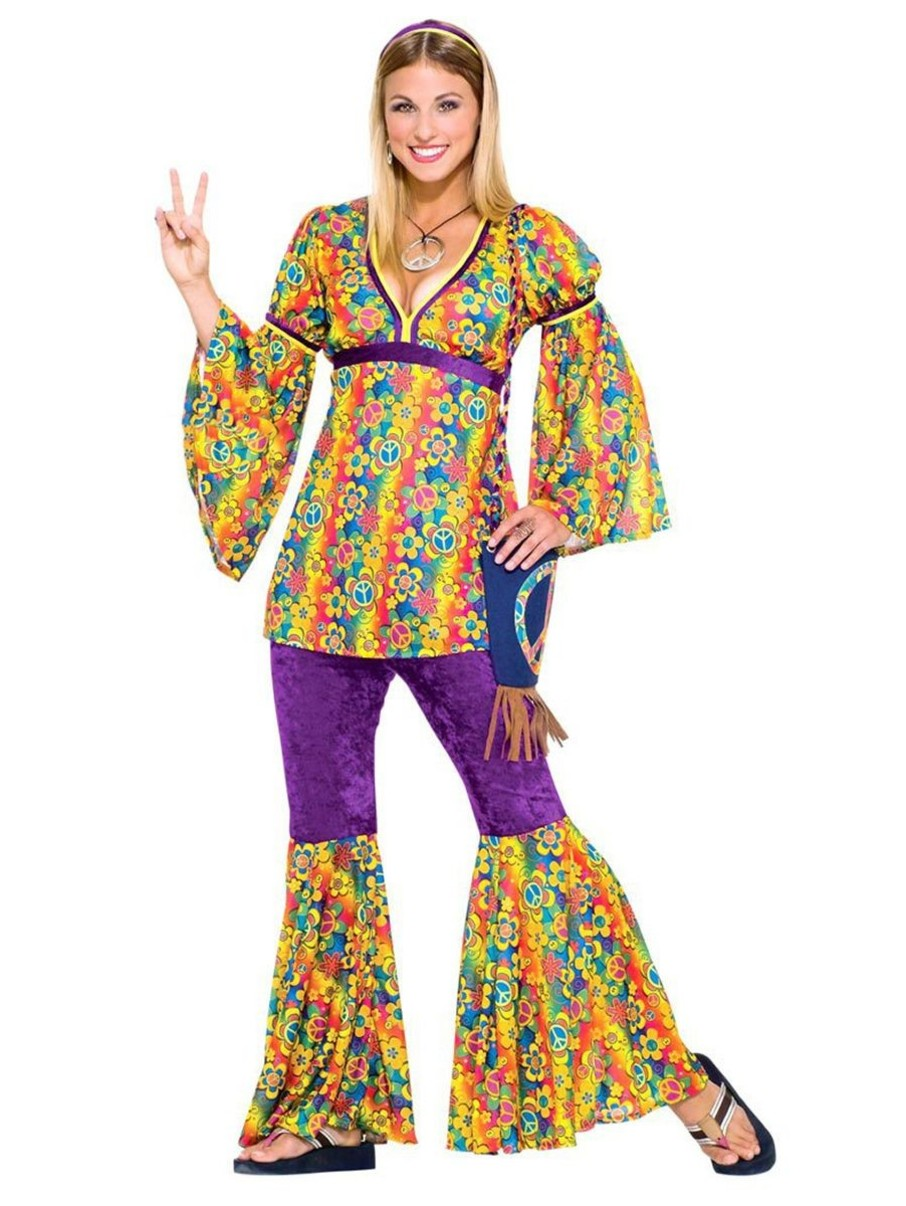 View larger image of Hippie Girl Teen Costume