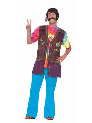 Hippie Peace Vest Costume
