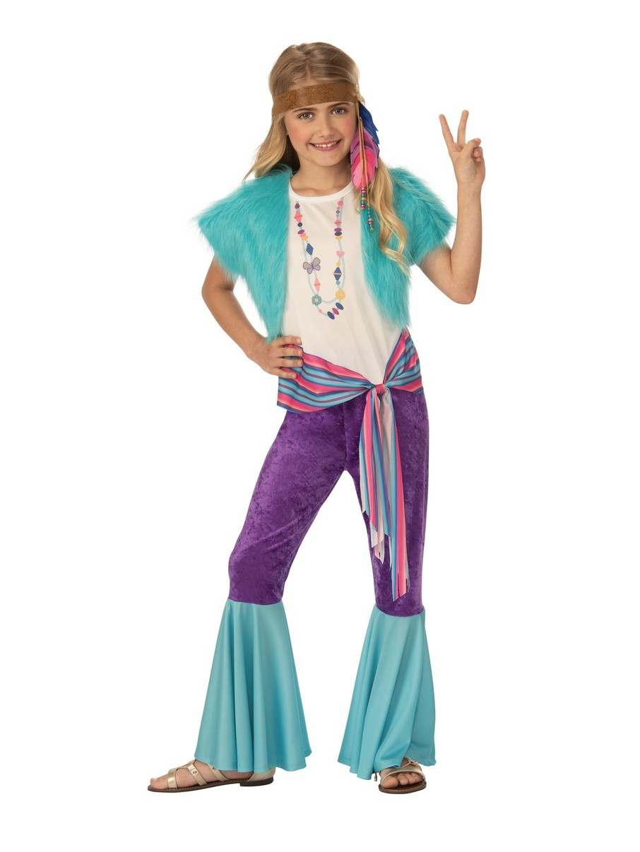 View larger image of Happy Hippie Girl Costume