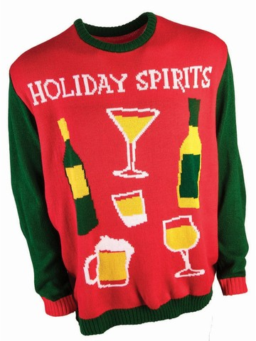 Holiday Spirits Sweater