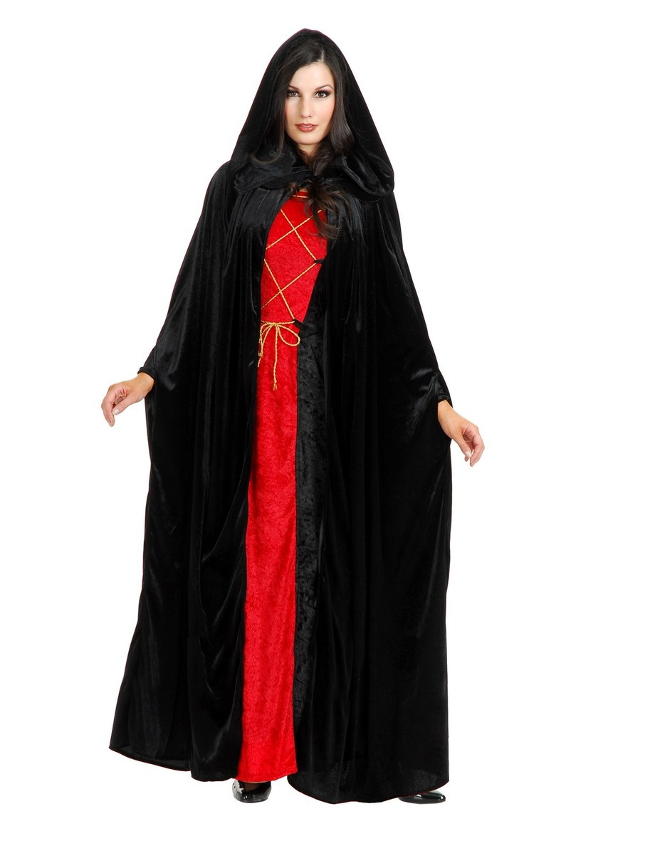 View larger image of Adult Hooded Unisex Cloak Cp