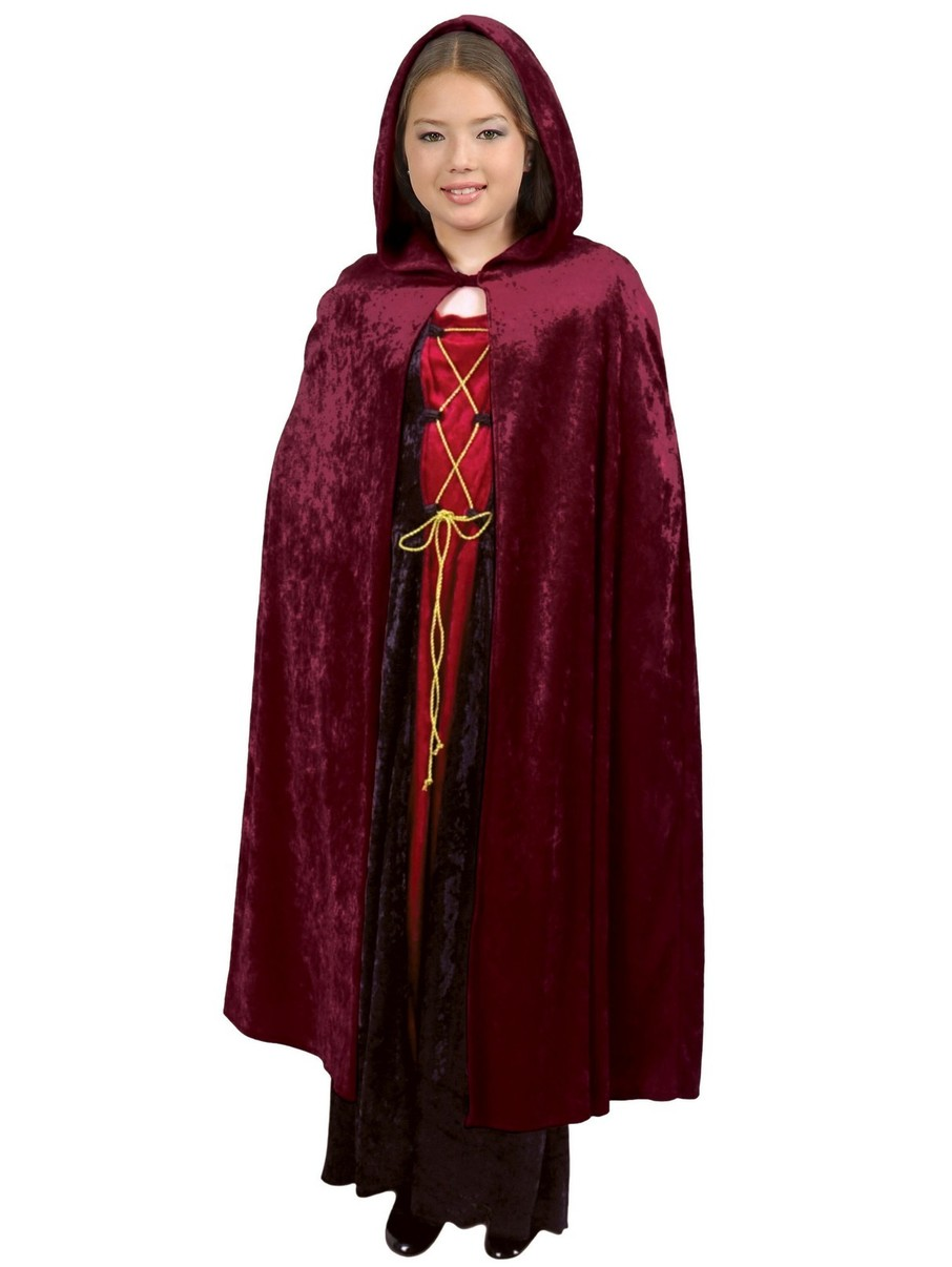 View larger image of Childrens Hooded Unisex CloakC.P