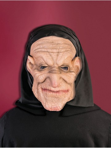 Promotional Adult Hooded Old Man Mask
