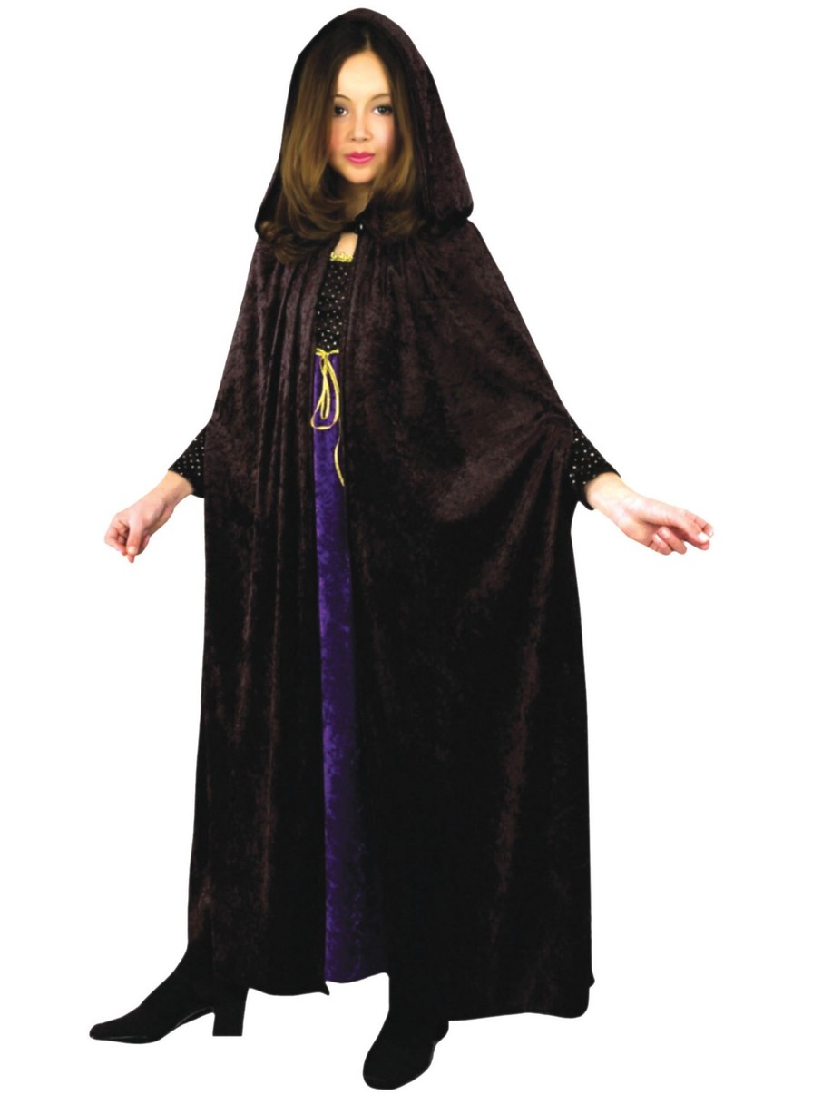 View larger image of Crushed Penne Horror Cloak for Kids