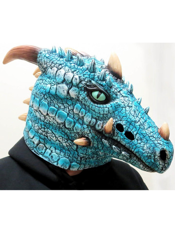 Adult Ice Dragon Mask