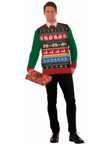 """Icons"" Christmas Sweater Costume"