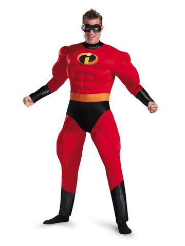 Incredibles 2: Adult Mr. Incredible Classic Muscle Costume