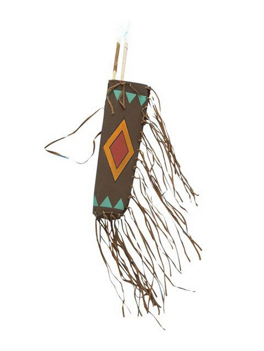 View larger image of Native American Quiver and Arrow Set