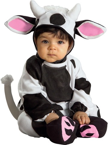 Infant Cozy Cow Costume