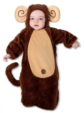 Sweet Little Monkey Costume for Infants