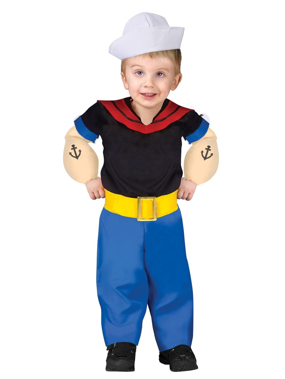 View larger image of Infant Toddler Popeye Costume
