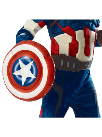 Licensed Accessory Captain America Inflatable Shield