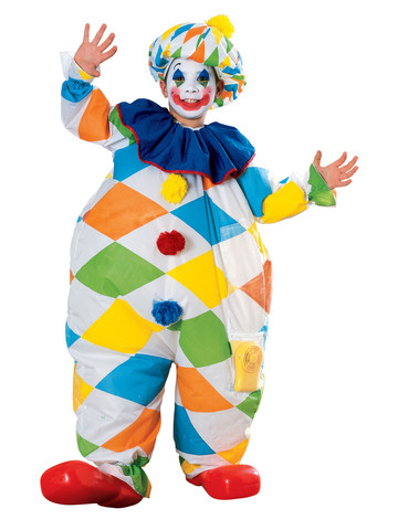 Inflatable Clown Costume for Kids