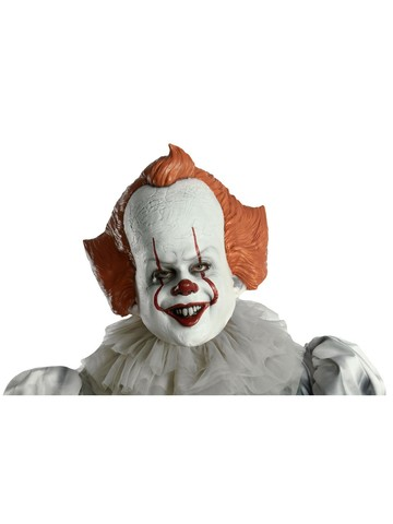It 2 Movie Pennywise The Clown Vinyl Mask