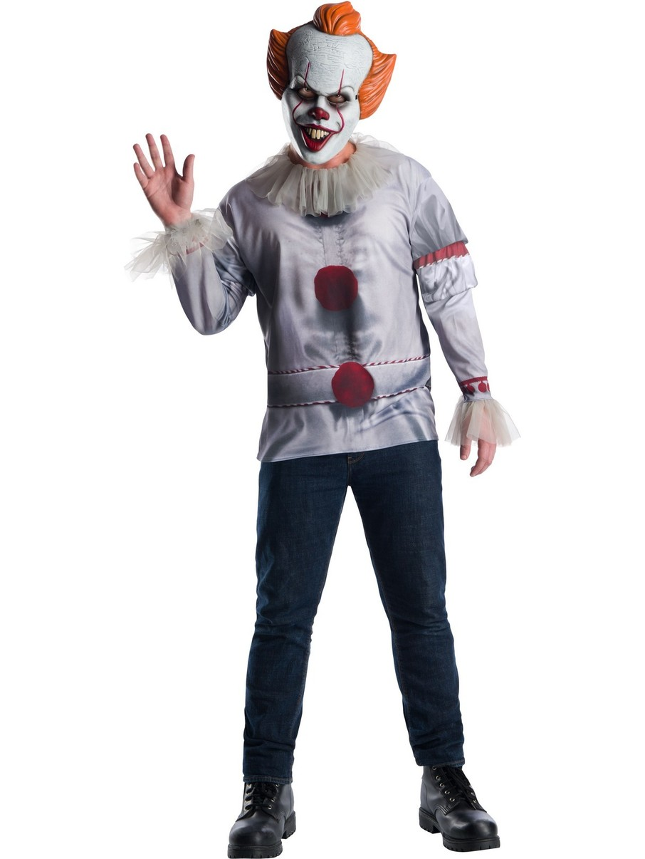 View larger image of IT Pennywise Costume Top Adult