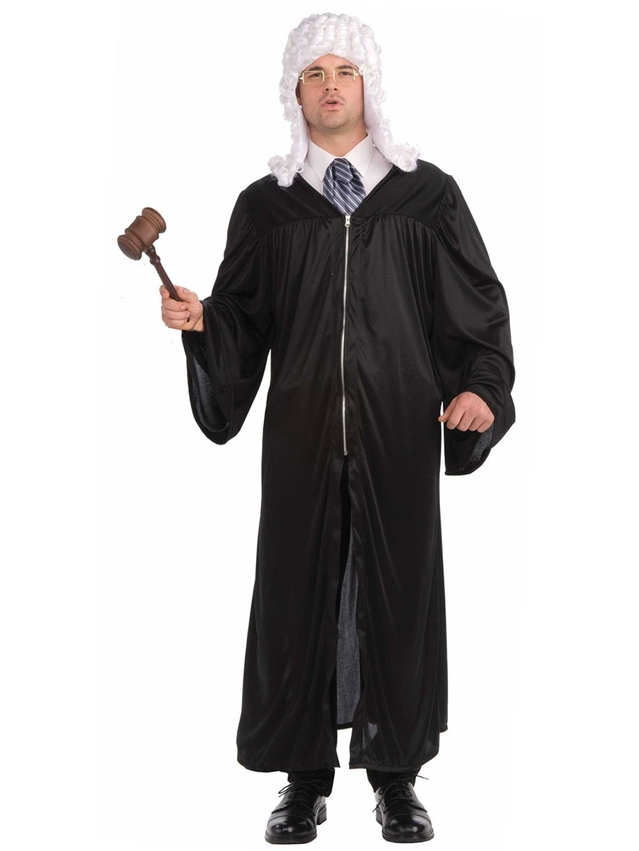 View larger image of Judge Robe Adult Costume