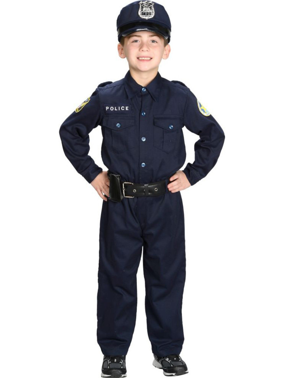 View larger image of Junior Police Suit Child Costume