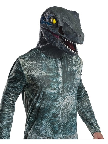 Jurassic World: Fallen Kingdom Deluxe Velociraptor Latex Overhead Mask For Adults