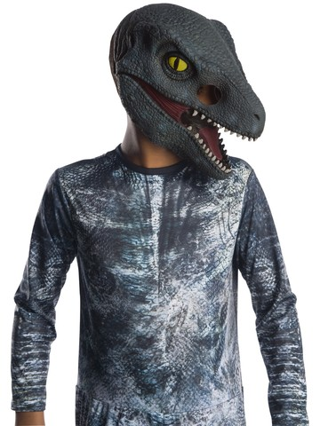 Jurassic World: Fallen Kingdom Velociraptor 3/4 Mask For Kids