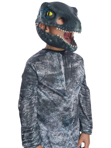 Jurassic World: Fallen Kingdom Velociraptor Movable Jaw Kids Mask