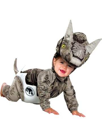 Hatching Triceratops Jurassic World Costume for Infant
