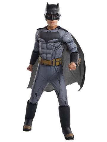 Kids Justice League Movie Batman Costume Deluxe