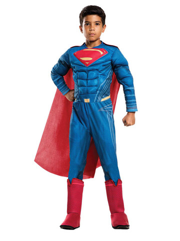Kids Justice League Movie Superman Costume Deluxe