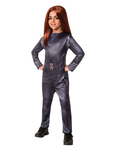 Marvel Captain America Winter Soldier Black Widow Kids Costume