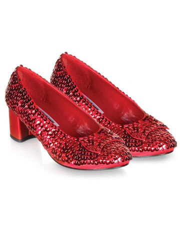 Kids Dorothy (Red Sequin) Shoes
