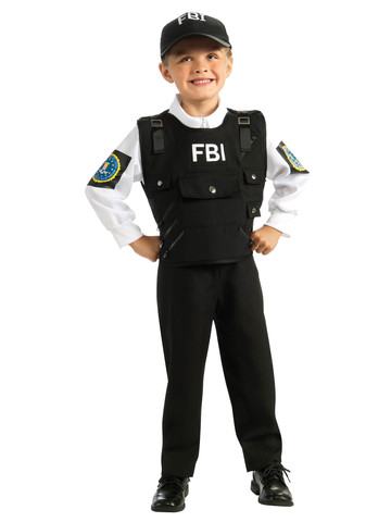 Kid's FBI Agent Costume
