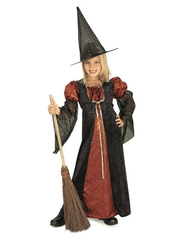 Glitter Witch Costume for Kids
