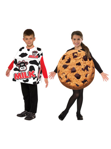 Milk and Cookies Costume Set for Kids