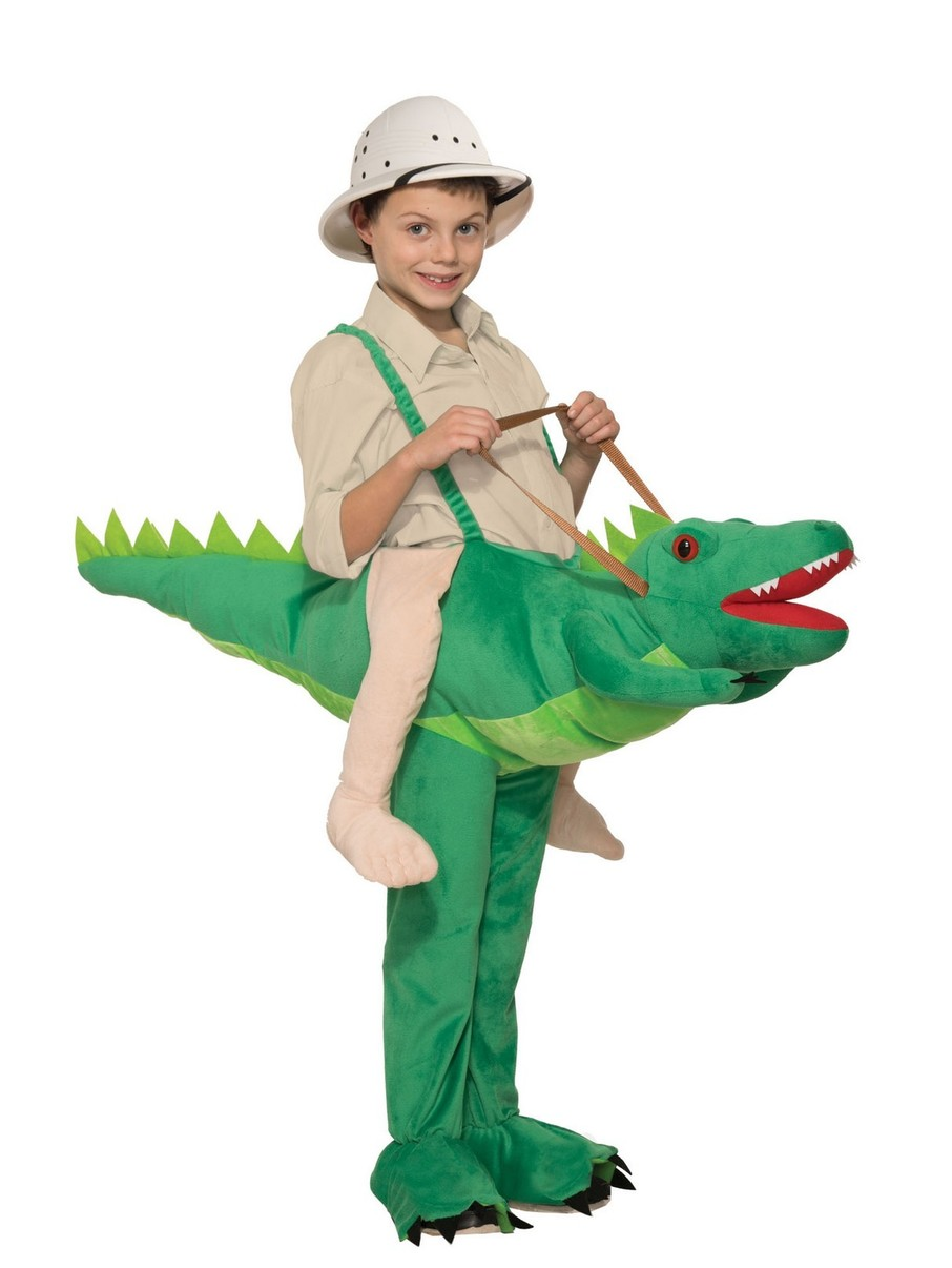View larger image of Kid's Croc Rider Costume