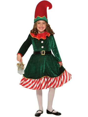 Santa's Little Elf Costume for Kids
