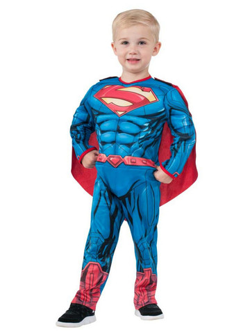 Kids Superman Muscle Chest Costume Classic Toddler