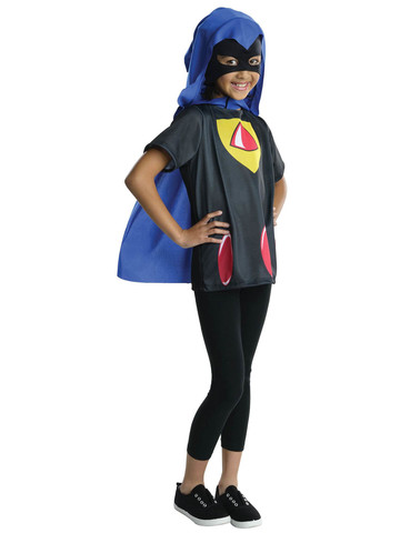 Raven's Go Teen Titans Go Girls Costume Top