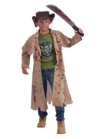 Undead Hunter Child Costume