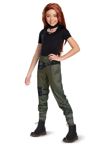 Kim Possible Classic Costume for Girls