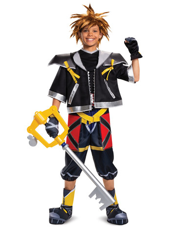 Kingdom of Hearts: Sora Deluxe Child Costume