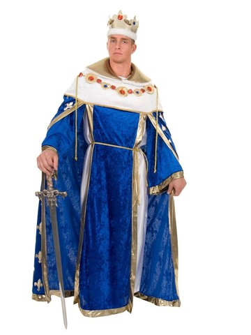 Blue Kings Robe for Adults