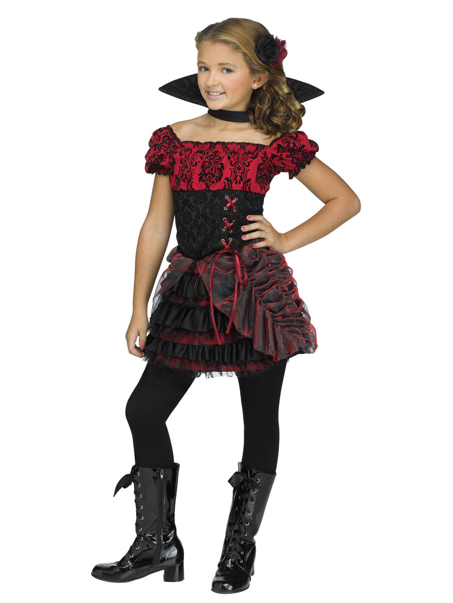 View larger image of Kids La Vampira Costume