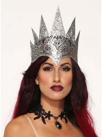 Queen's Royal Lace Crown for Women