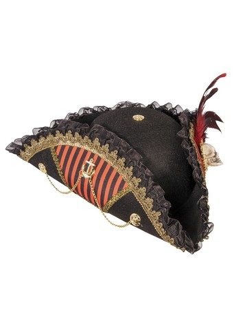 Womens Buccaneer Hat With Skull