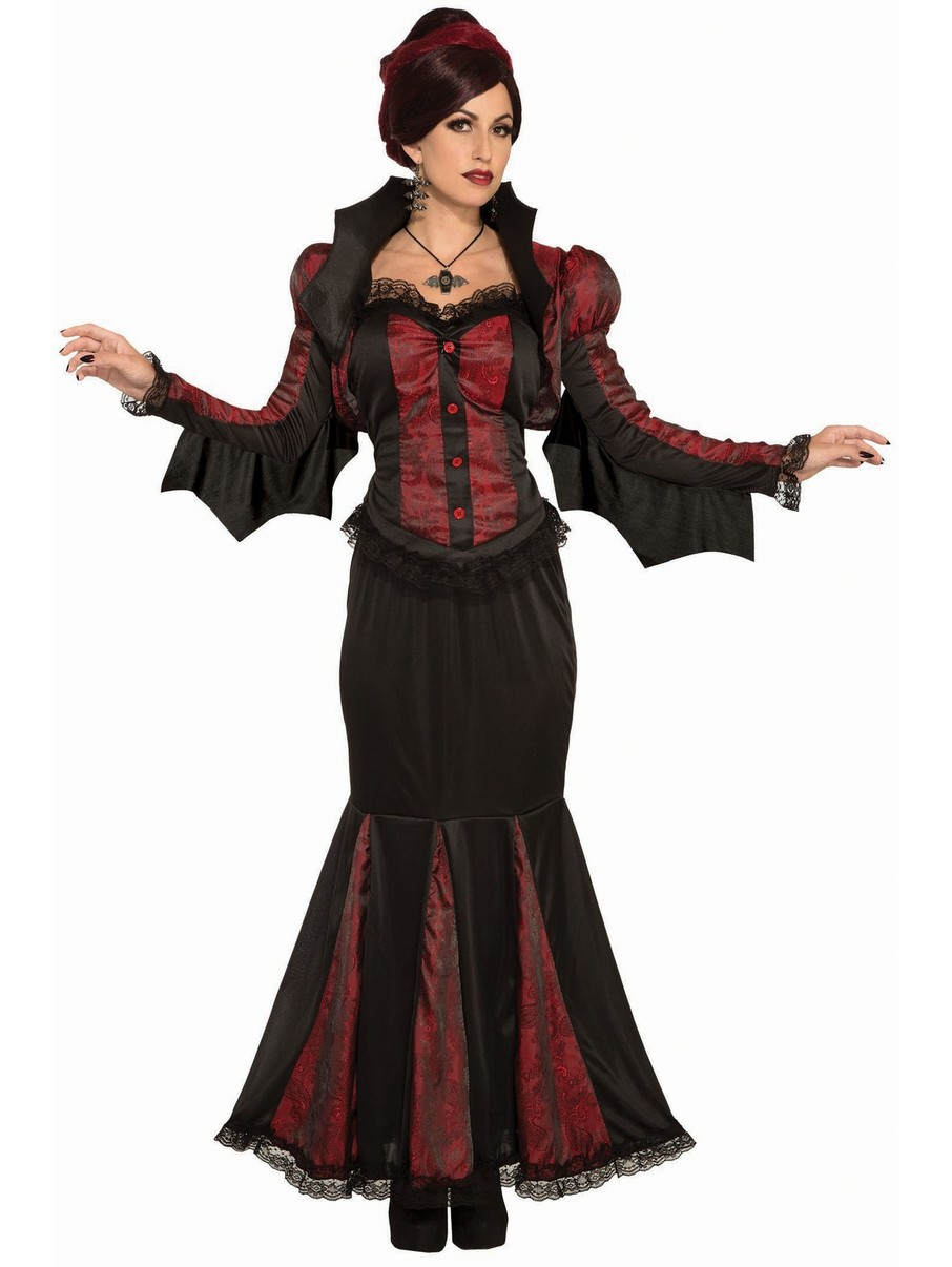View larger image of Lady of Darkness Vampire Womens Costume